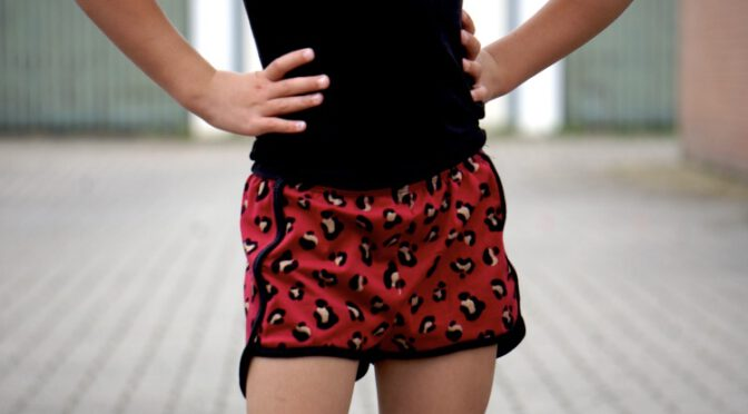 Sporty Shorts voor Ninthe